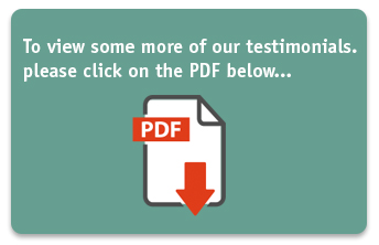 Download our testimonials PDF