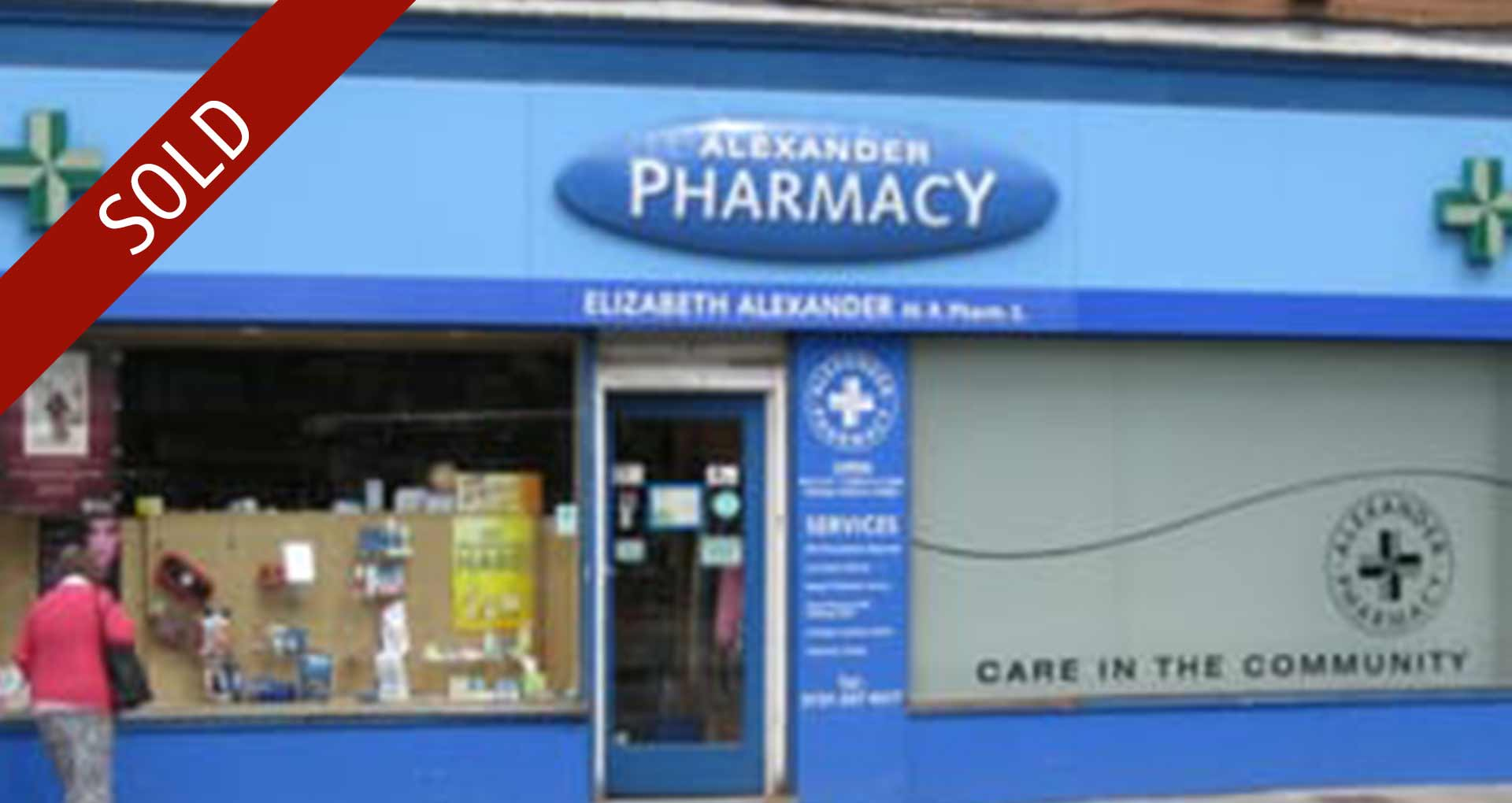 Alexander Pharmacy, Edinburgh