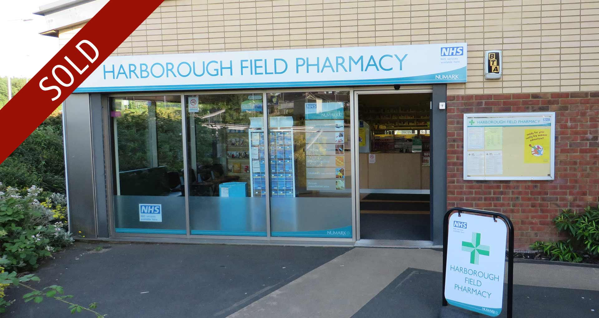 Barrington Healthcare Ltd (t/a Harborough Field Pharmacy) Northants