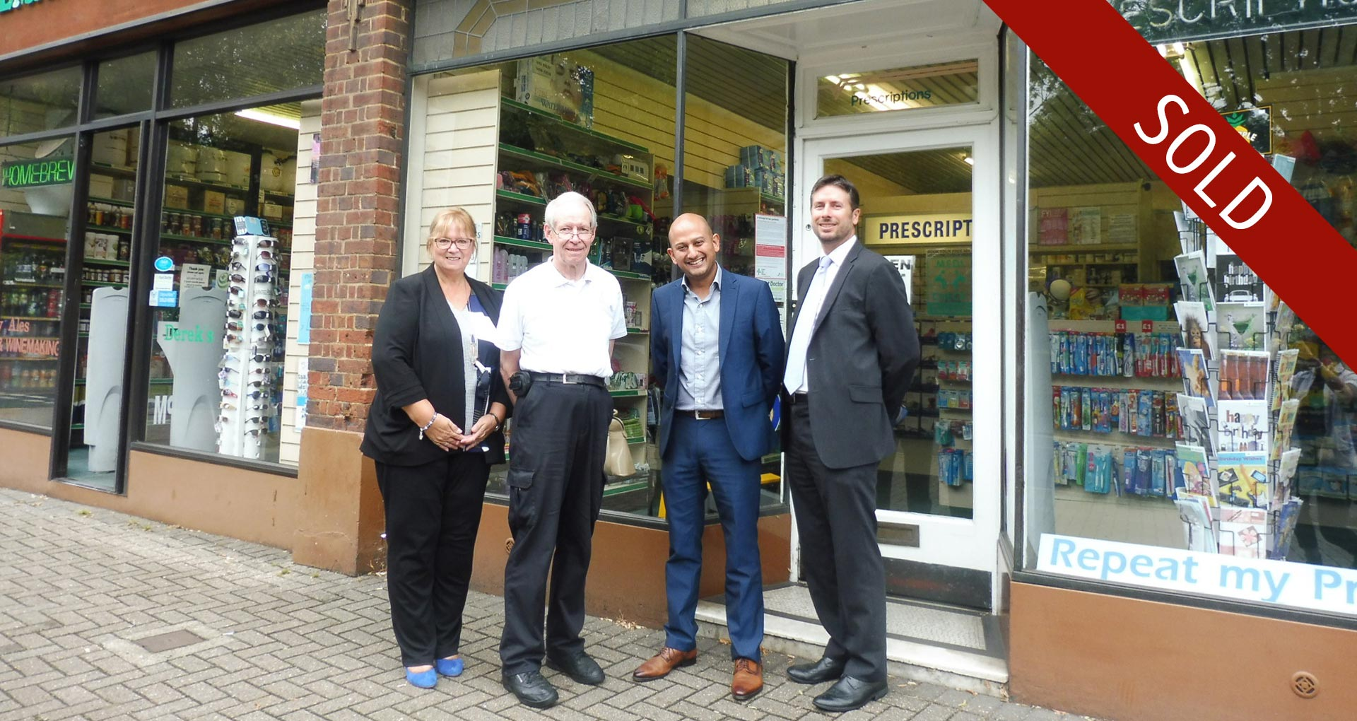 Pharmacy Sale in Hertfordshire brokered by Hutchings Consultants Ltd