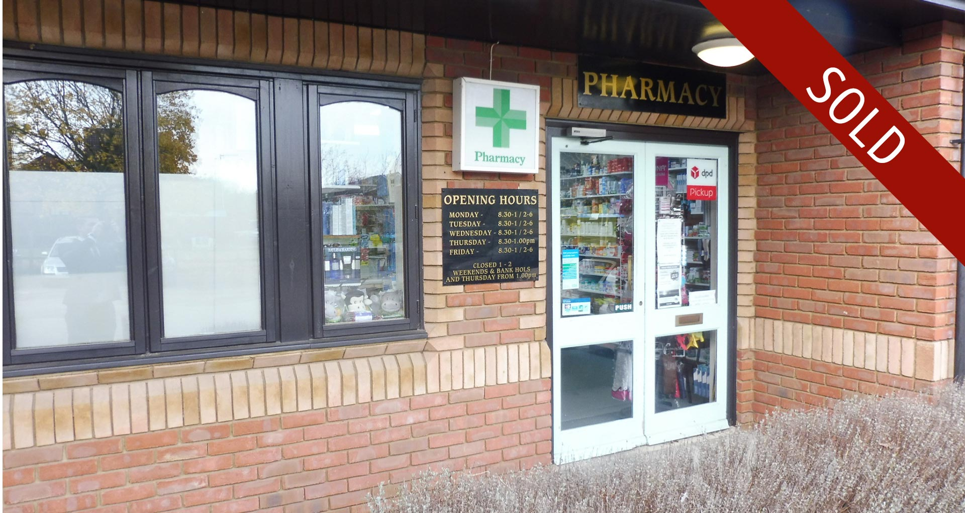 Sale of Edlesborough Pharmacy
