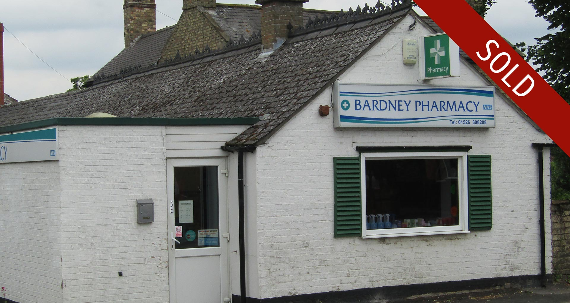 Sale of Bardney Pharmacy, Lincolnshire