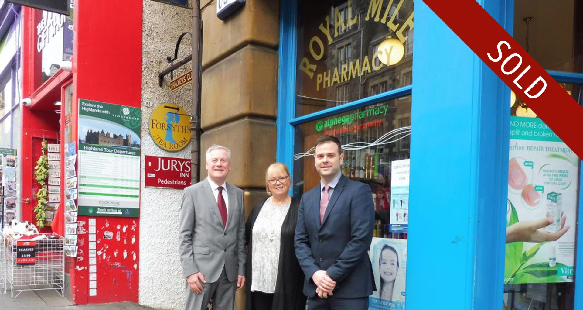 Pharmacy Group Sold in Edinburgh, Scotland
