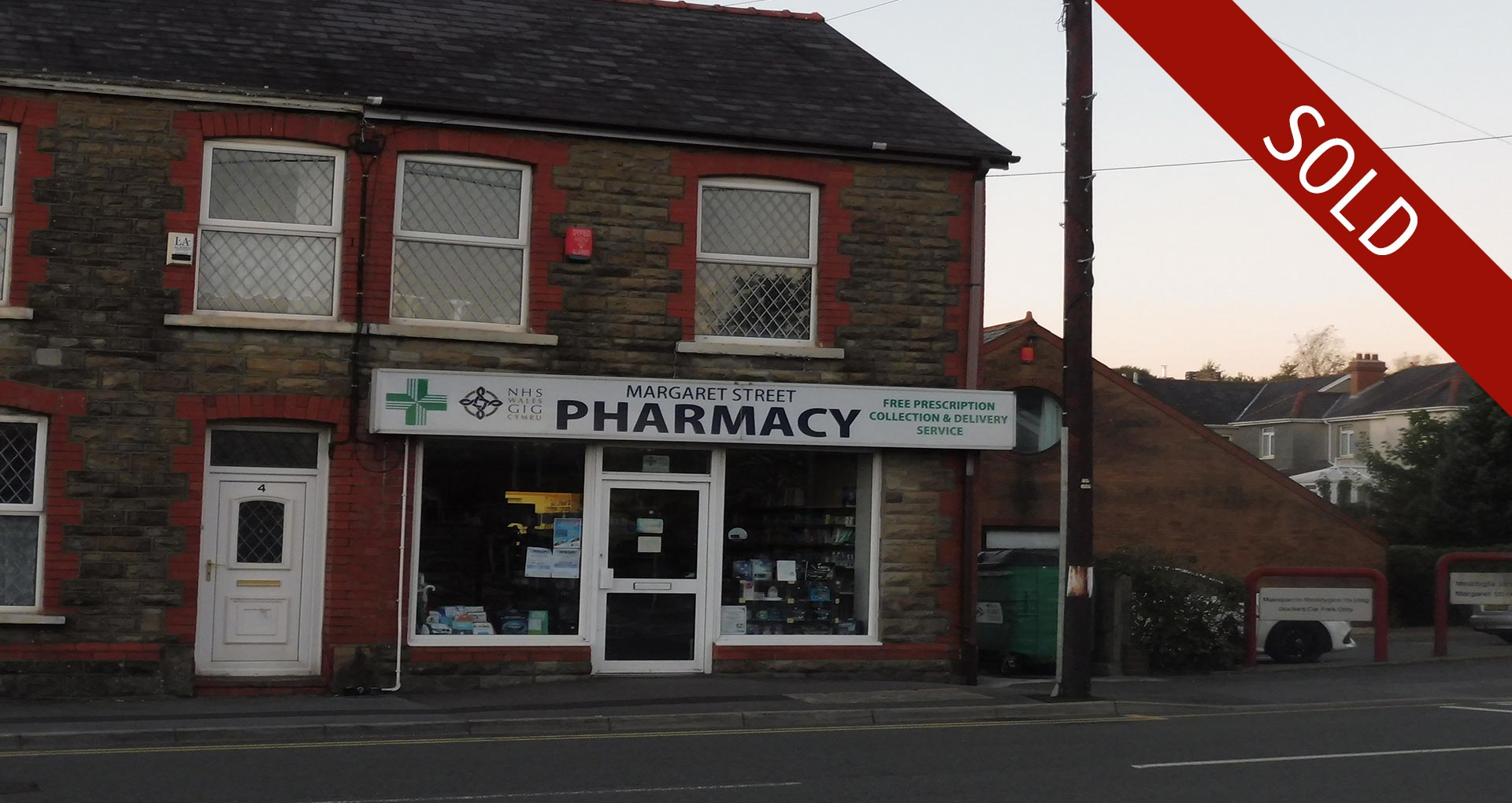 Pharmacy Sold in Carmathenshire, Wales