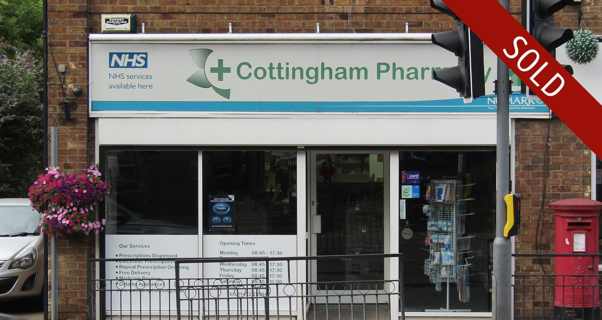 Sale of pharmacy in North East Lincolnshire