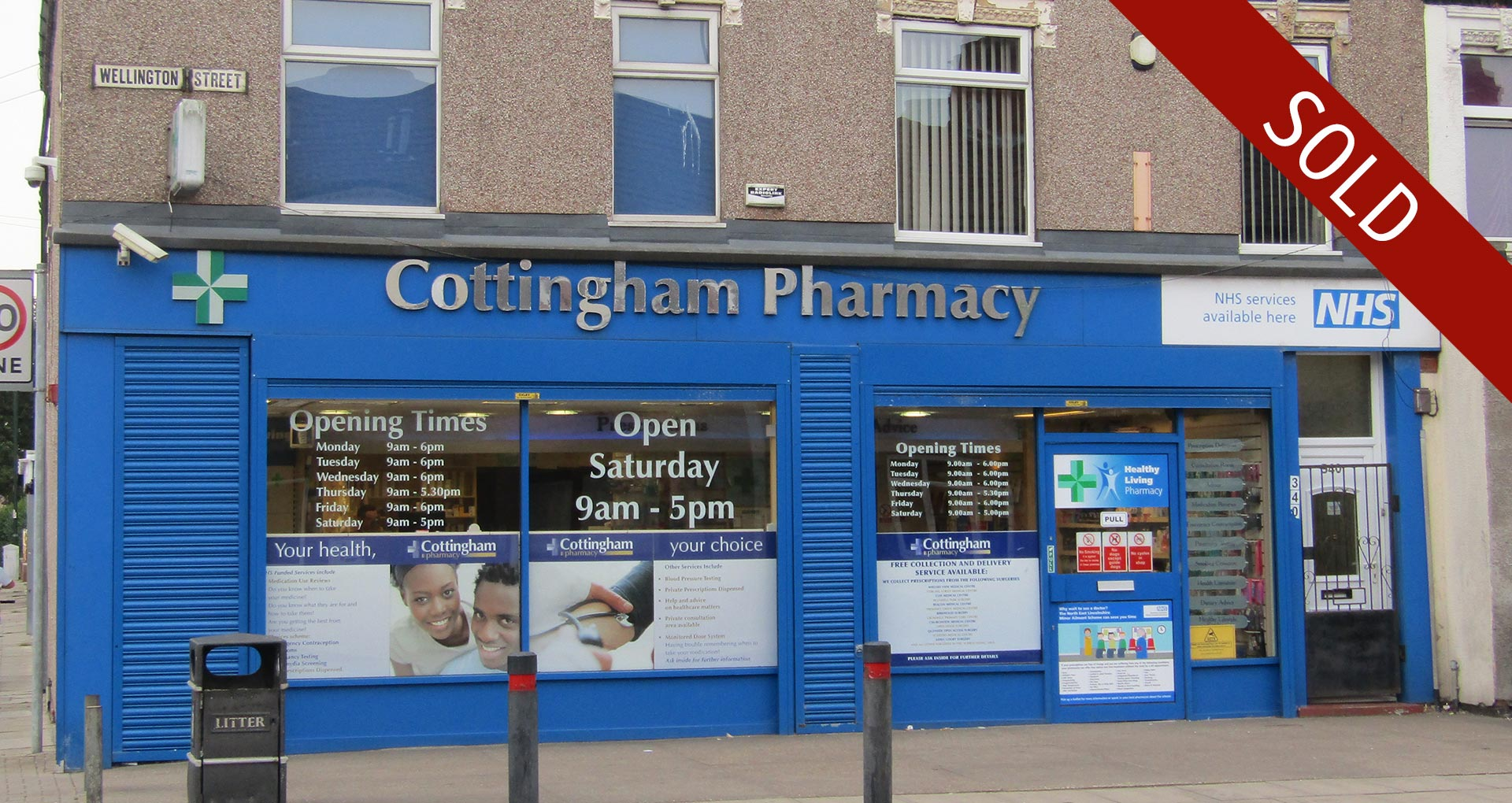 Family owned Grimsby pharmacy sold to first time buyer