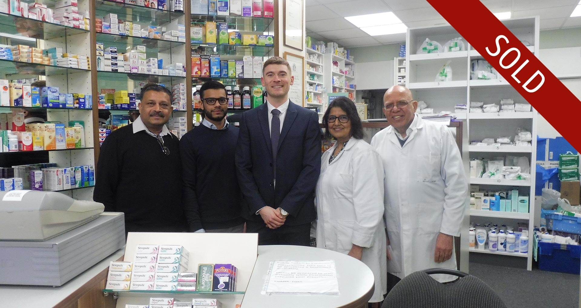 Middlesex Pharmacy Completion