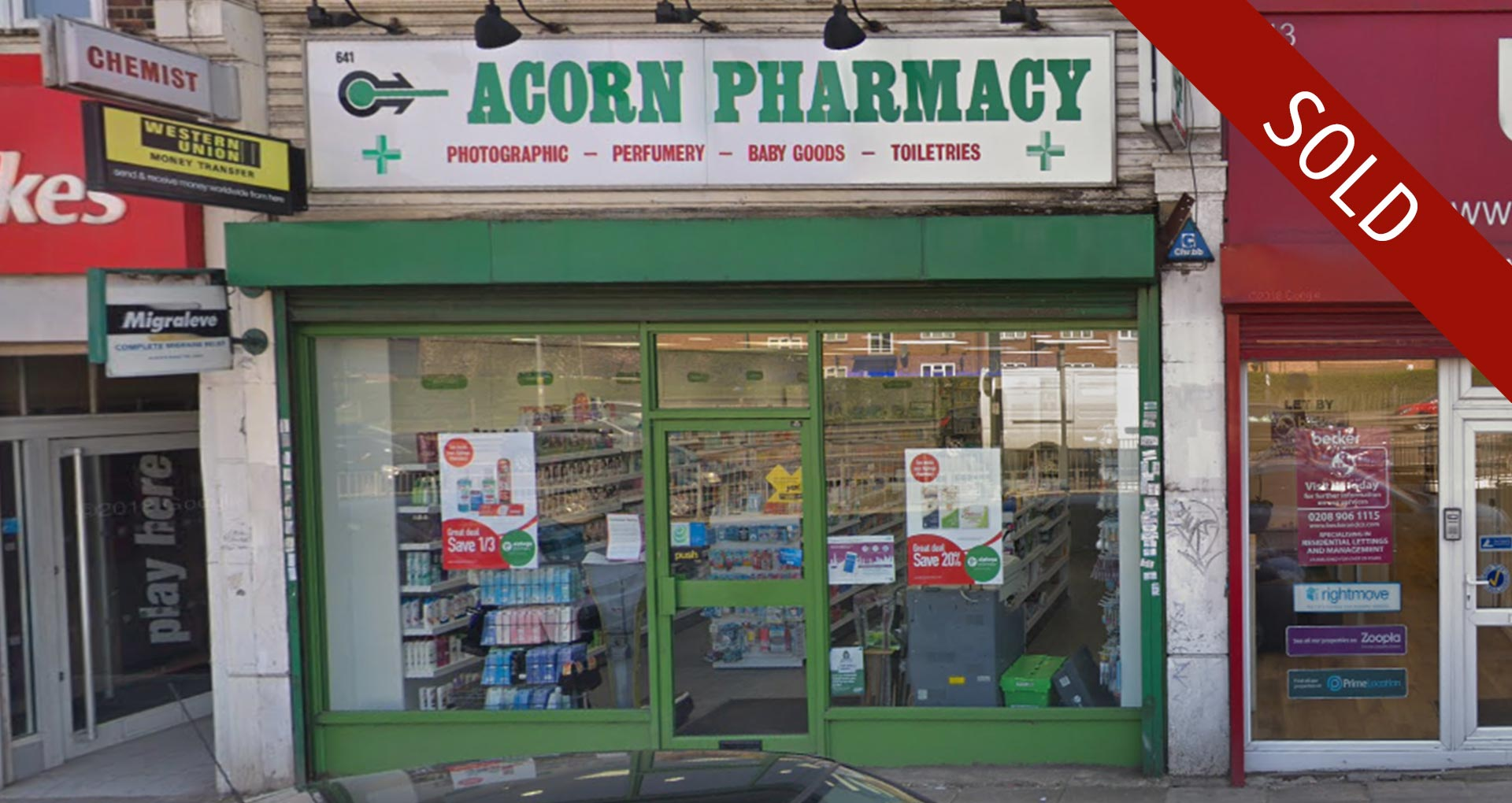 Pharmacy Sale Completed in Mill Hill, North West London